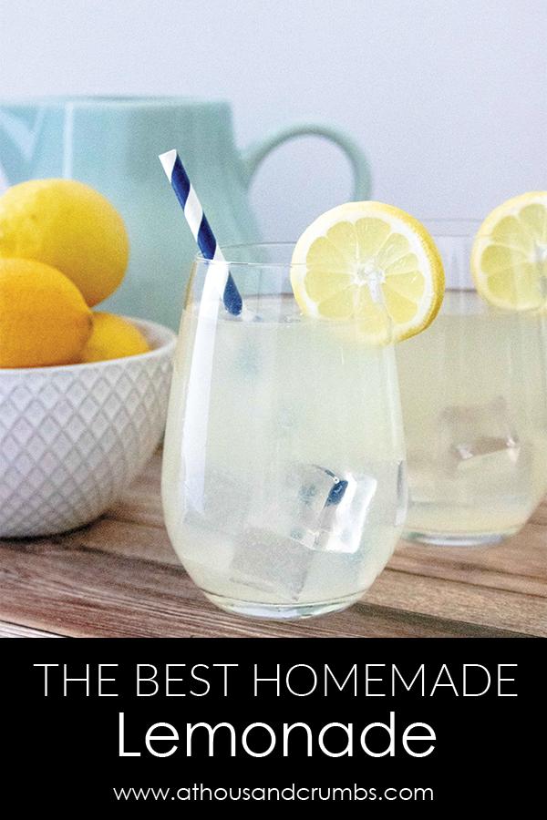 Pinterest - The Best Homemade Lemonade