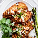 Recipe Card - Spicy Chili Chicken with Fresh Tomatillo Salsa