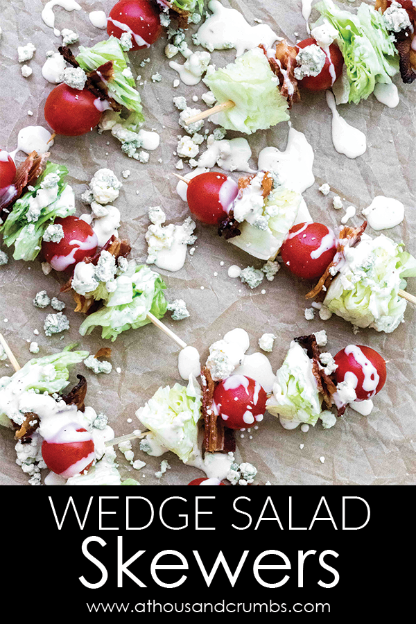 Pinterest - Wedge Salad Skewers