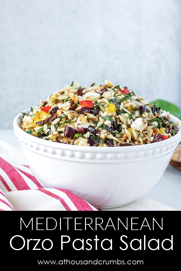 Mediterranean Orzo Pasta Salad from A Thousand Crumbs (1 of 6)