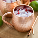 Recipe Card - Fresh Pomegranate Moscow Mules