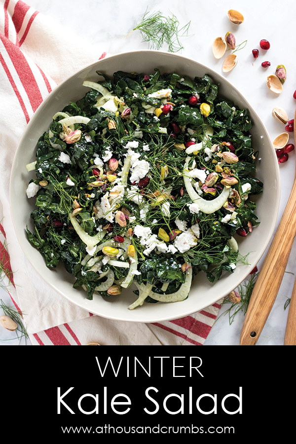 Pinterest - Winter Kale Salad