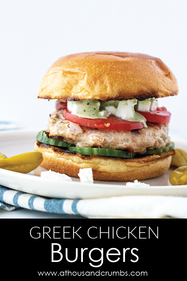 Greek Chicken Burgers from A Thousand Crumbs (1 of 3)