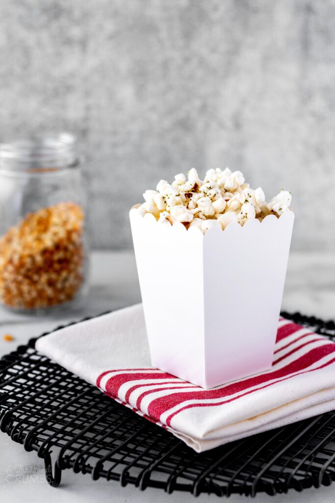 Stovetop Popcorn - Parmesan Garlic from A Thousand Crumbs (2 of 4)