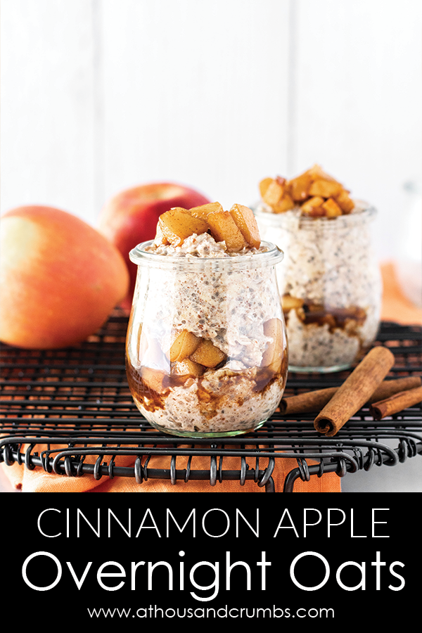 Pinterest - Cinnamon Apple Overnight Oats